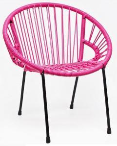 chaise-enfant-tica-rose