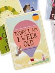 Crédit : milestone baby card